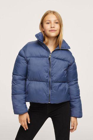 Mango Kids - Дитяча куртка Bleu