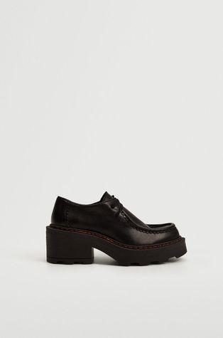 Mango - Кожени половинки обувки Wally