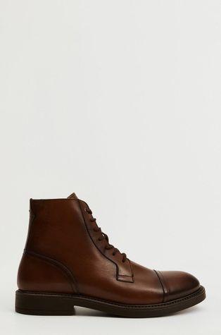 Mango Man - Кожени половинки обувки Botincep