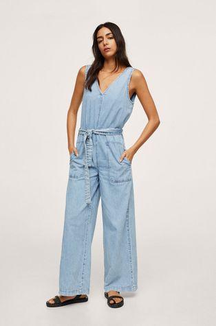 Mango - Kombinezon jeansowy Dalia