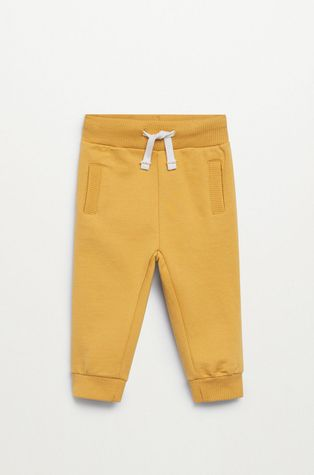 Mango Kids - Spodnie dziecięce Mateop1 80-110 cm