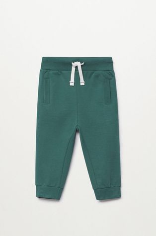 Mango Kids - Dětské kalhoty Mateop1 80-110 cm