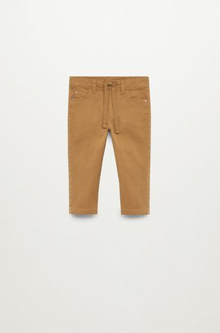 Mango Kids - Pantaloni copii CORD