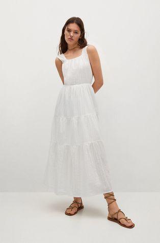 Mango - Bavlnené šaty Coquet