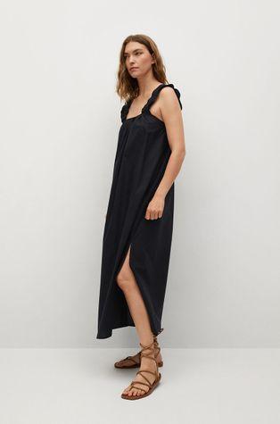 Mango - Bavlnené šaty Delos