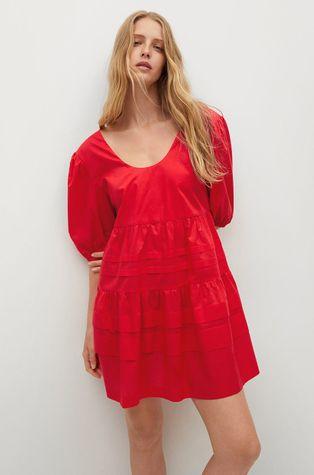 Mango - Sukienka bawełniana MAYO