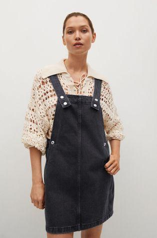 Mango - Sukienka jeansowa India