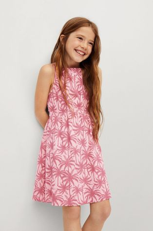 Mango Kids - Детска рокля Desert 116-164 cm