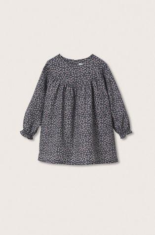 Mango Kids - Dětské bavlněné šaty Clara