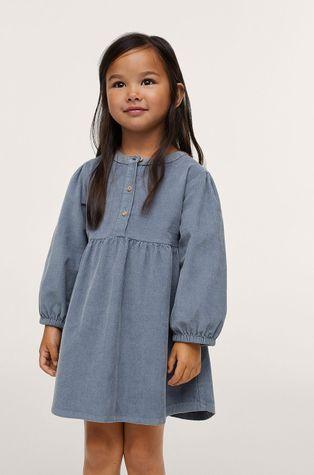 Mango Kids - Хлопковое детское платье Abby