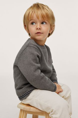 Mango Kids - Gyerek pamut pulóver Russel