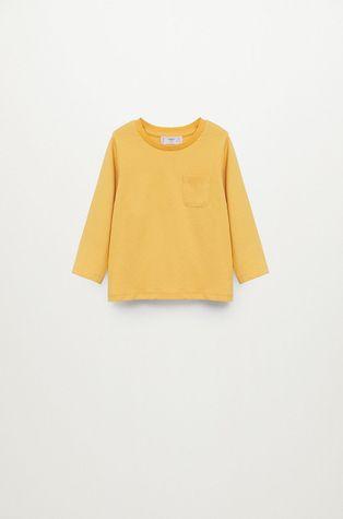 Mango Kids - Detské tričko s dlhým rukávom Marcos