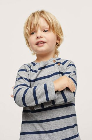 Mango Kids - Detské tričko s dlhým rukávom Robert