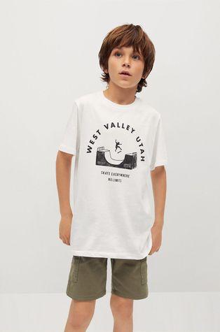 Mango Kids - Gyerek pamut póló Utah