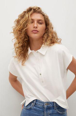 Mango - Bavlnené tričko PEPA
