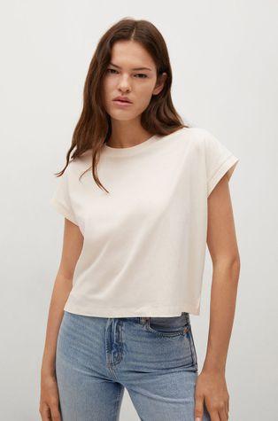 Mango - T-shirt bawełniany Rayita