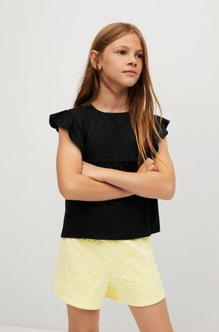 Mango Kids - Tricou de bumbac pentru copii COCO