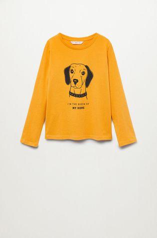 Mango Kids - Detské tričko s dlhým rukávom Sheldon