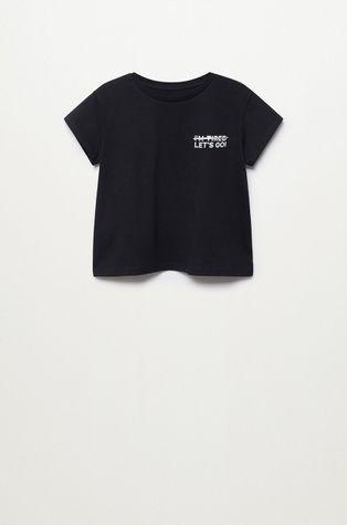 Mango Kids - Детска памучна тениска Nilo