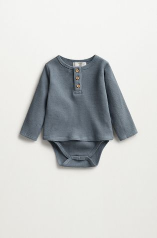 Mango Kids - Боди для младенцев Gofre