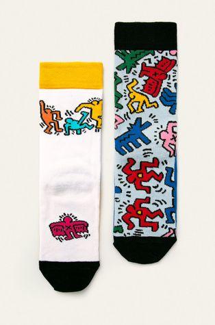 Medicine - Skarpetki by Keith Haring (2 pack)