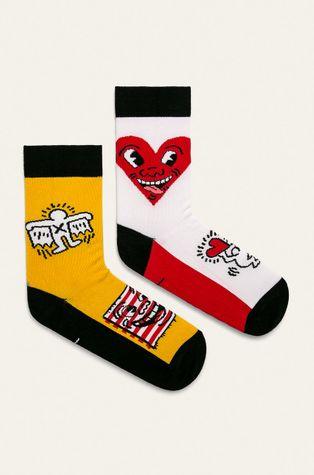 Medicine - Ponožky by Keith Haring (2-pak)