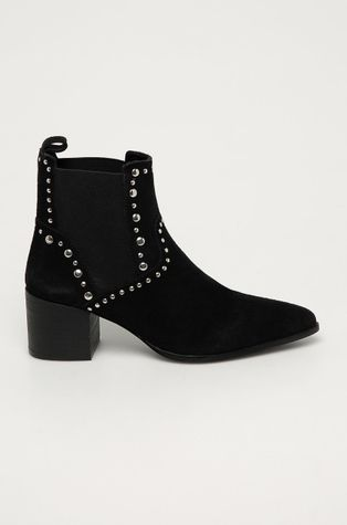 Medicine - Kožené kotníkové boty Black Art