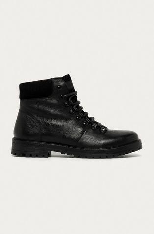 Medicine - Kožené boty Lux Black