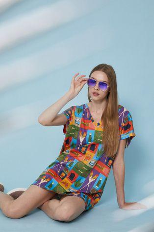 Medicine - T-shirt bawełniany by Justyna Frąckiewicz, Summer Posters