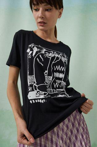 Medicine - T-shirt bawełniany by Agnieszka Gajos Grafika Polska