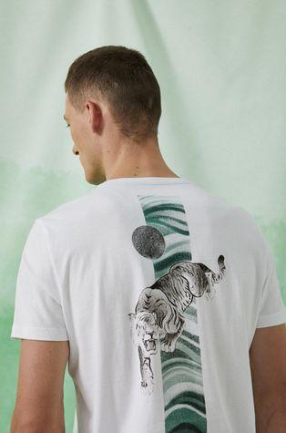 """Medicine - T-shirt bawełniany by """"Moczito"""" - Andrzej Doliński Grafika Polska"""