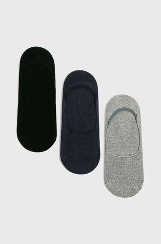 John Frank - Kotníkové ponožky (3 pack)