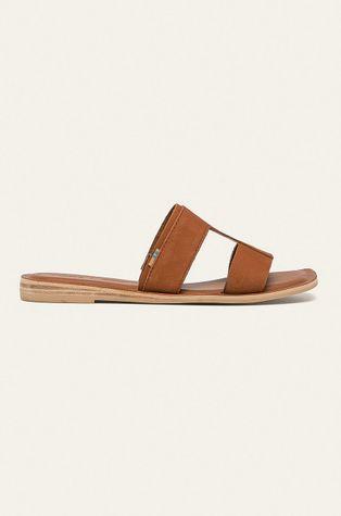 Toms - Kožené pantofle Seacliff