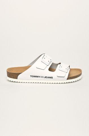 Tommy Jeans - Kožené pantofle