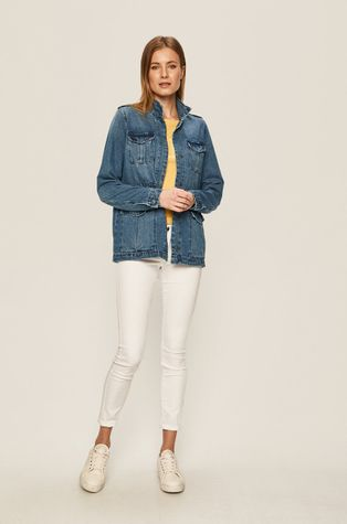 Vero Moda - Rifľová bunda