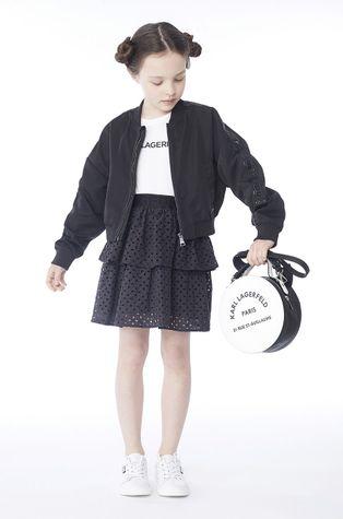 Karl Lagerfeld - Dětská bomber bunda 150 cm