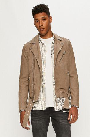 AllSaints - Kožená bunda Inigo