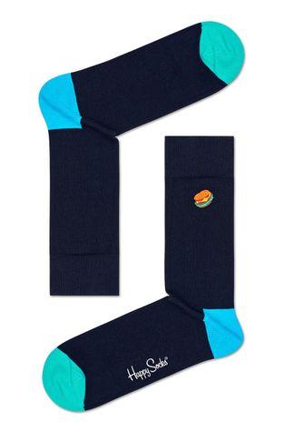 Happy Socks - Skarpetki Embroidery Hamburger