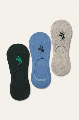 Polo Ralph Lauren - Kotníkové ponožky (3-pack)