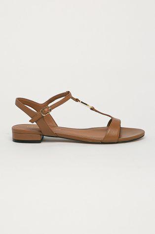 Emporio Armani - Sandały skórzane