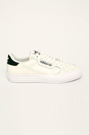 adidas Originals - Buty skórzane Continental Vulc