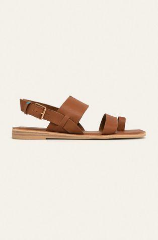Toms - Kožené sandále Freya