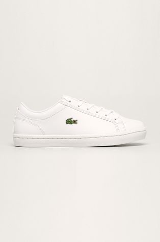 Lacoste - Kožené boty Straight Set