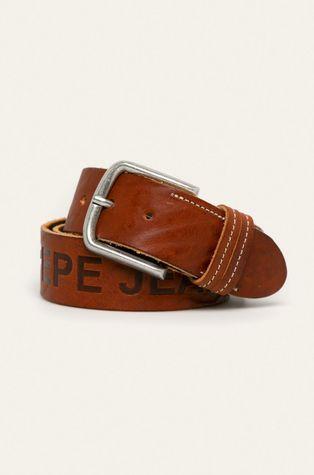 Pepe Jeans - Pasek skórzany Mathew