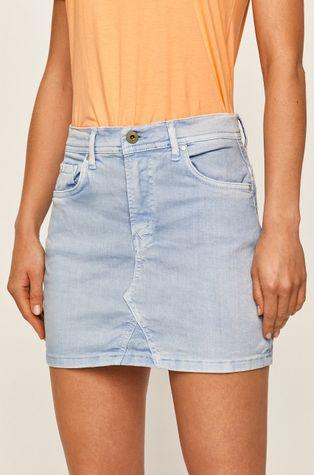 Pepe Jeans - Džínová sukně Dani
