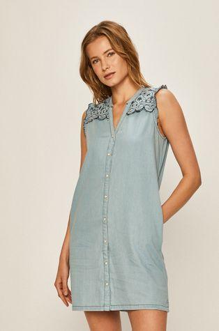 Pepe Jeans - Džínové šaty Lura