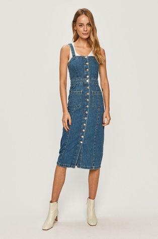 AllSaints - Džínové šaty