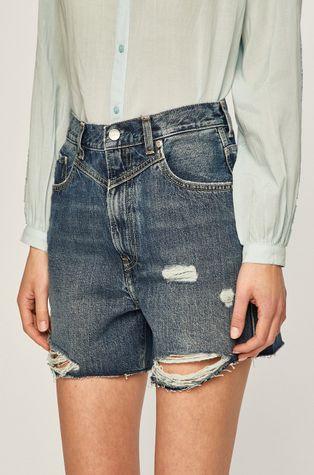 Pepe Jeans - Džínové šortky Rachel