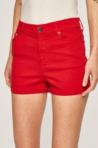 Karl Lagerfeld Denim - Rifľové krátke nohavice