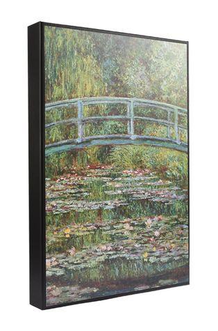 MuseARTa - Pudełko prezentowe Claude Monet - Bridge over a Pond of Water Lilies